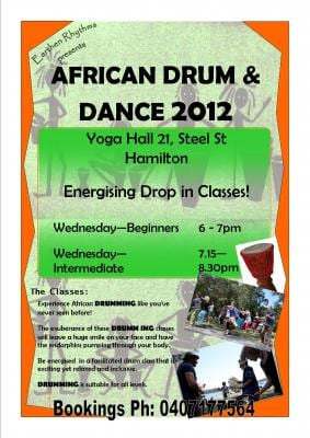 EARTHEN RHYTHMS AFRICAN DRUM AND DANCE NEWCASTLE | Octapod